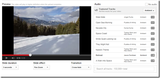 How to create YouTube slideshow videos from your images Amastra Eileen Brown